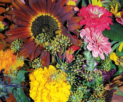 Bouquet at the Fair