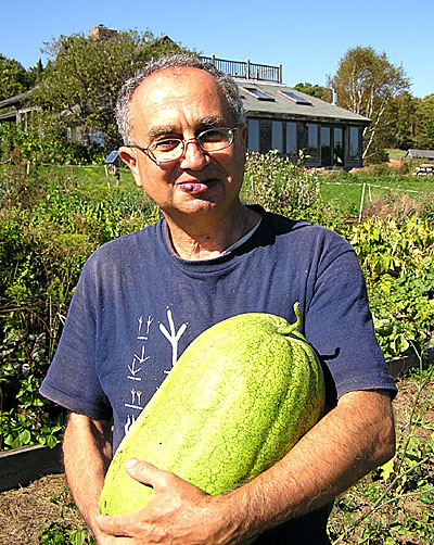 Roy with Ali Baba melon