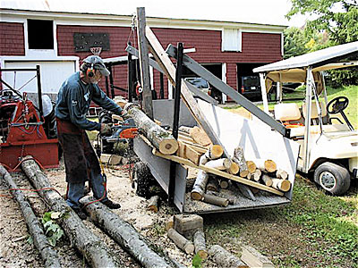Solar-Powered Sawing