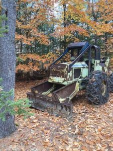 1988 Tree Farmer C5D – a mid-sized cable skidder