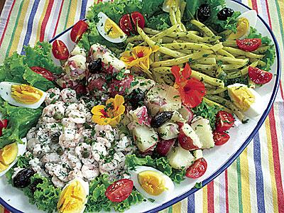 Maine Nicoise salad