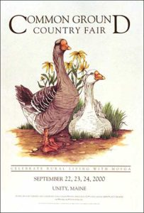 2000 poster artwork by Kirsten E. Moorhead