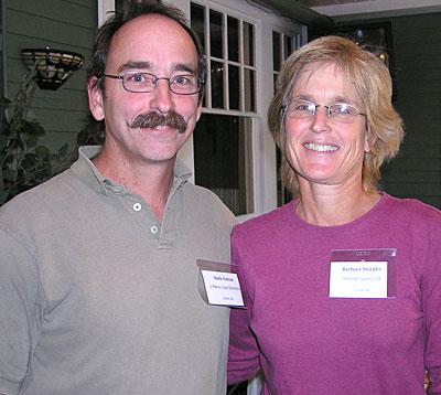 Mark Hutton and Barbara Murphy