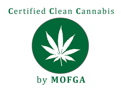 MOFGA Certified Clean Cannabis logo