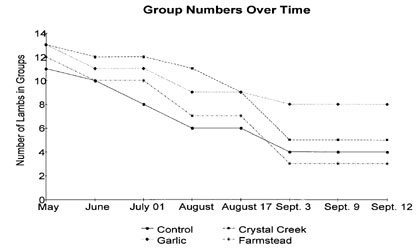 Group Numbers Over Time