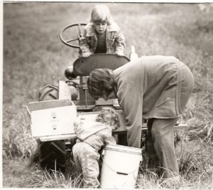 Harvesting at Ken-Ro Farm
