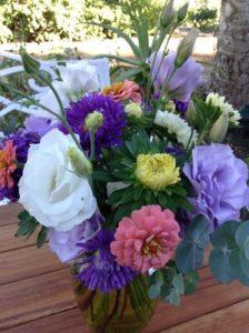 Annual Flower Bouquet by Martha Fenn King