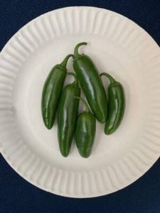 Early Jalapeño Peppers by Walker Elementary School