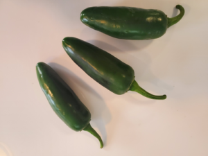 Early Jalapeno by Marsha and Michael Sloan