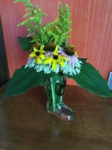Flower bouquet- mostly wild by Luana Sena