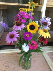 Mixed flowers bouquet by Matthew Dubois