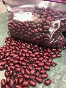Red Mexican Dry Beans by Amy Frances LeBlanc