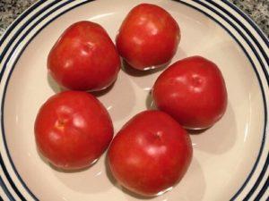 Red Siberian tomato by Bridgette Bartlett
