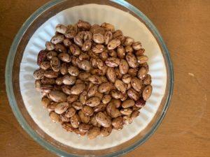 Ruby Dwarf Beans by Troy Elementary School