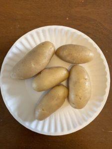 Russian Banana Fingerling Potatoes by Darcy Johnston