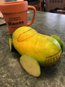 Overripe Cucumber Car by Amy Frances LeBlanc