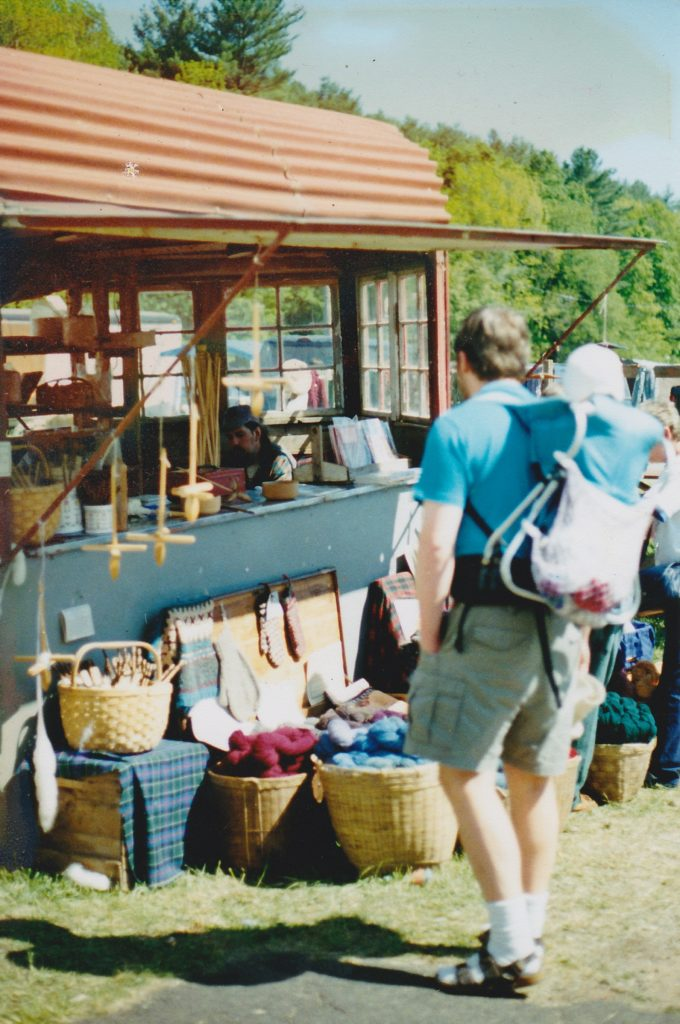 Yarn Wagon at Common Ground Country Fair