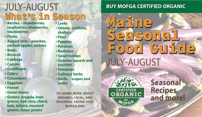 July-August Seasonal Food Guide