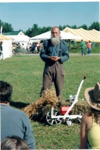 Will Bonsall and seed saving demo