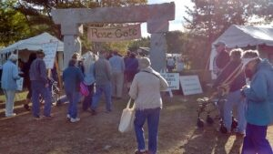 Rose Gate at Common Ground Country Fair