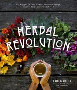 Book Cover, Herbal Revolution