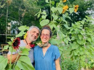 Alain Oliver and Erica Berman of Veggies to Table